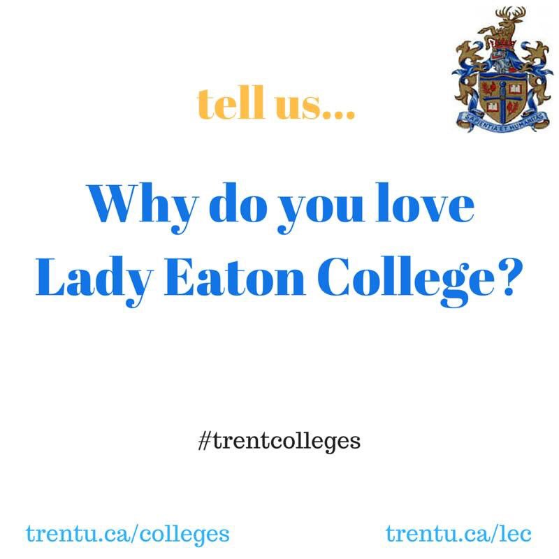 how to get to trent university lady eaton