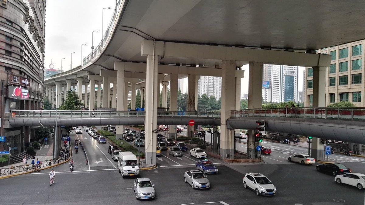 Resultado de imagem para avenidas em shanghai