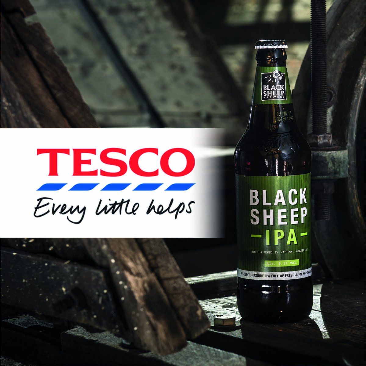 #RetweetToWin with #BlackSheepIPA and @Tesco! A lucky #winner will be chosen on Friday to #win a case of glasses https://t.co/nQHNrJUeiq