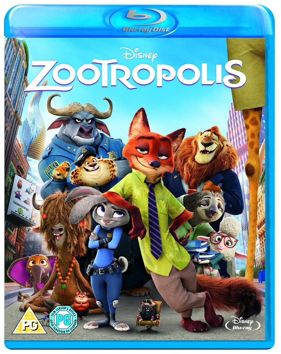 #Competition time! RT + follow for a chance to #win Zootropolis on Blu-ray! For a 2nd entry: https://t.co/06AofgRfLm https://t.co/u0DfvdubN3