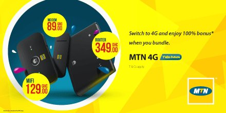 Mtn Ghana On Twitter Grab A 4g Modem Wifi Or Mifi From Any Mtn Service Center And Enjoy 100 When You Bundle