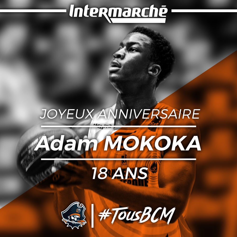 Bcm Basketball On Twitter Joyeux Anniversaire Adam Notre Jeune