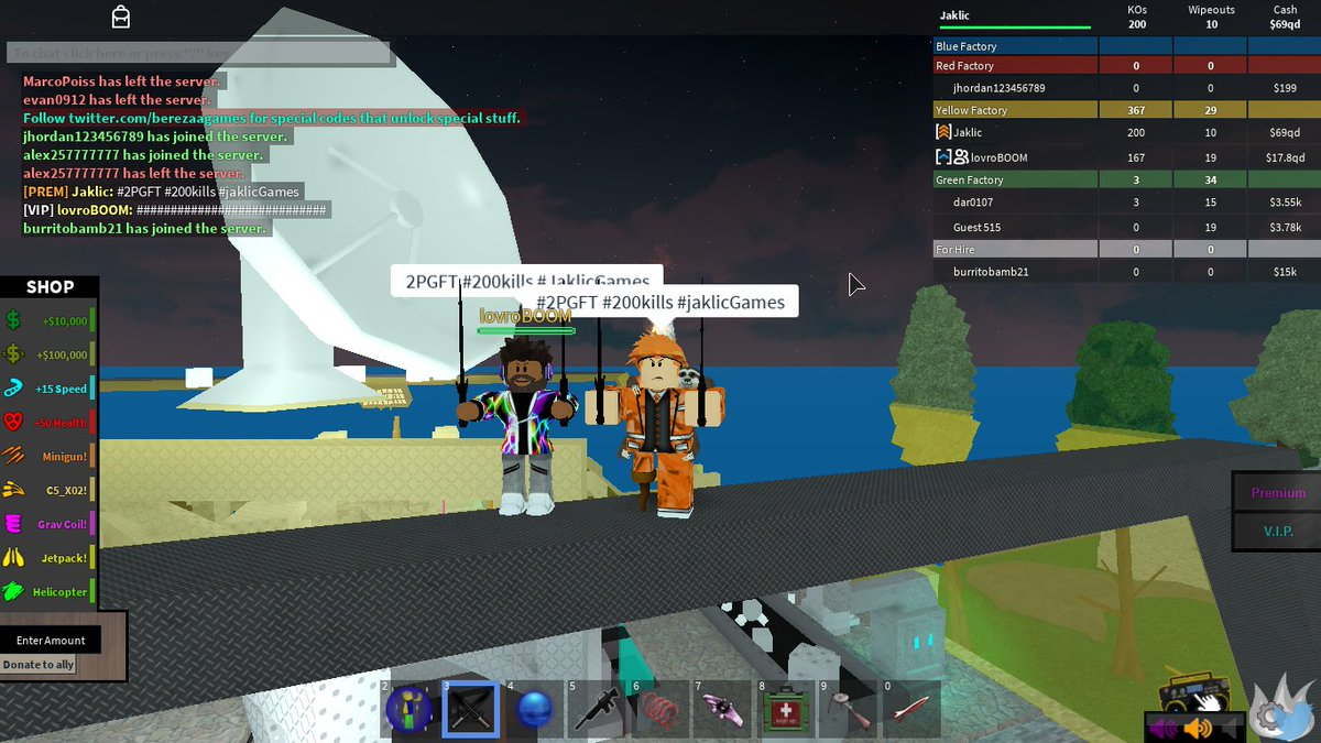 """2Pgft jaklic on twitter: """"200 kills in 2pgftgoing up on"""