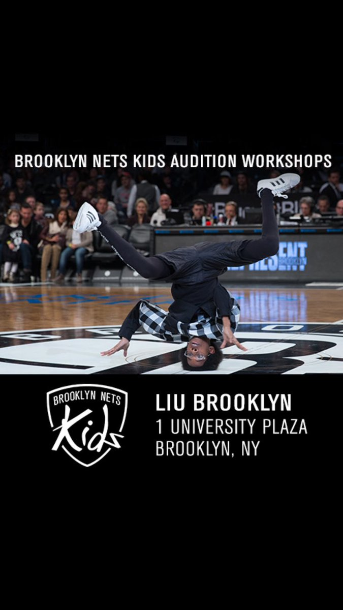 Only 10 days left until our first Brooklyn Nets Kids Audition Workshop! Sign up now at https://t.co/JQ4GnjI9q1. https://t.co/F3qCBufeFx