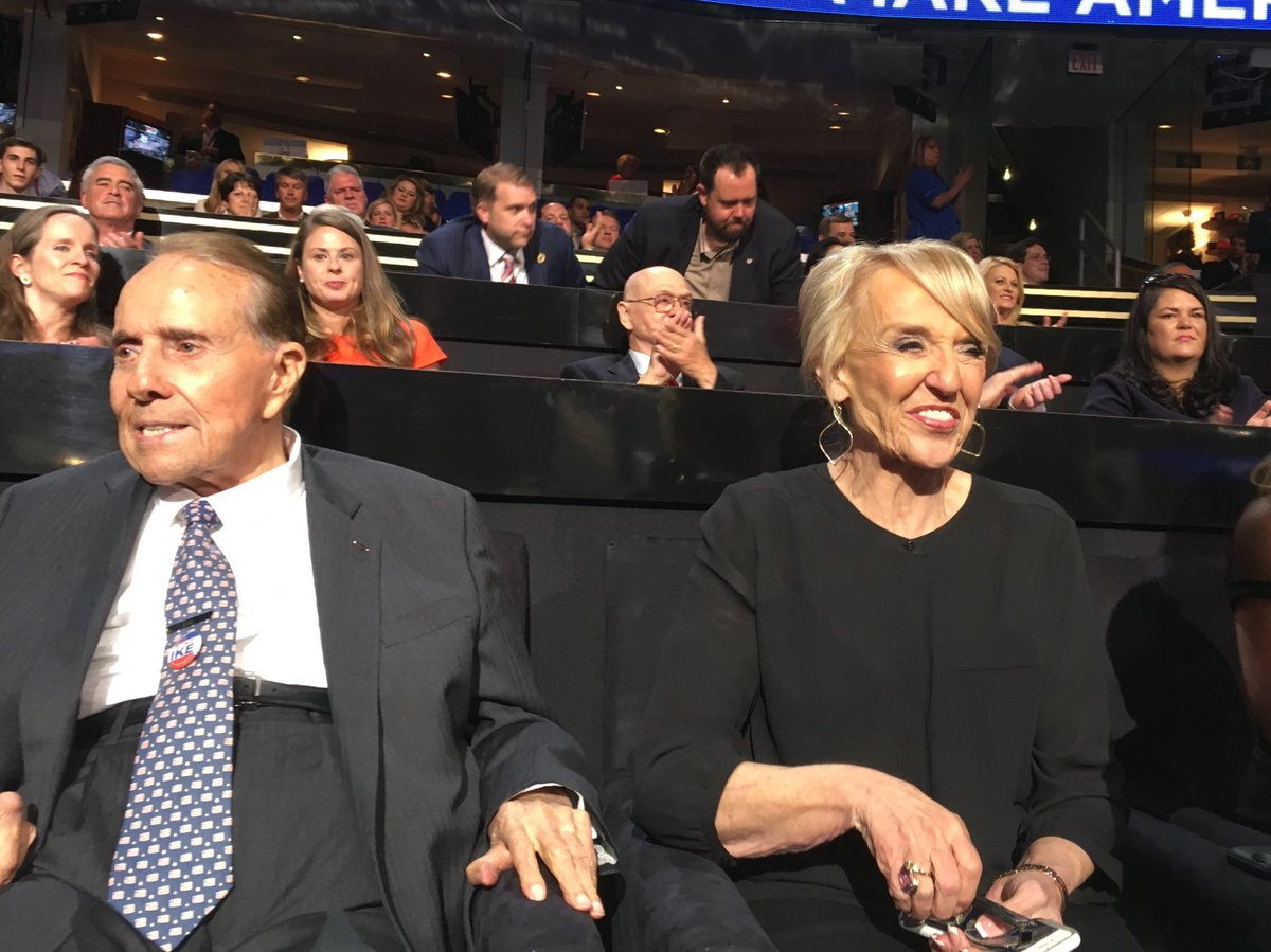 "Mandi Wright on Twitter: ""Bob Dole sits with Jan Brewer #RNCinCLE… """
