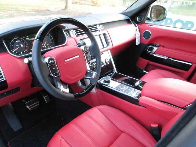 Christopher oplinger christopheropl2 twitter - Range rover with red leather interior ...