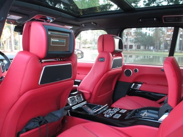 Rug On Twitter Switching My Current Range Rover For An Upgraded One W Red Leather Seats I 39 M