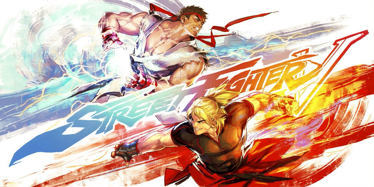 Shoryuken Com On Twitter Street Fighter V Ryu Vs Ken Fan Art By