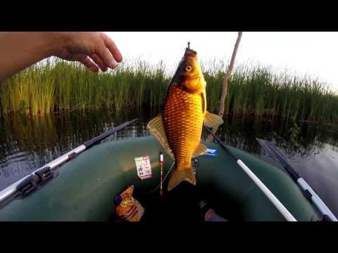 поплавковая рыбалка на карася видео
