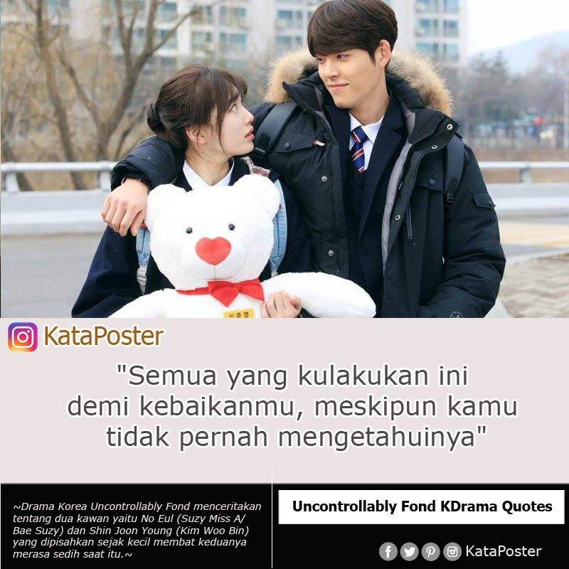 Kutipan Film Kdrama On Twitter Kutipan Drama Korea Uncontrollably Fond Kataposter Dramakorea Jogjadamai Missa Suzy Kimwoobinsg Cinta Love