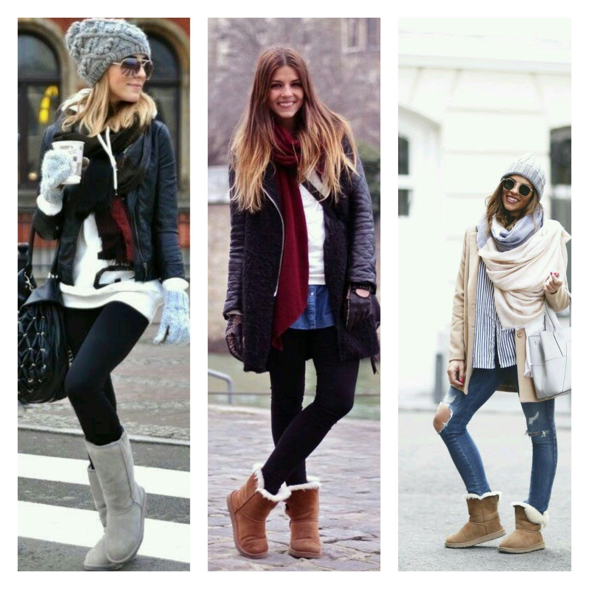 creative outfit casual mujer frio del