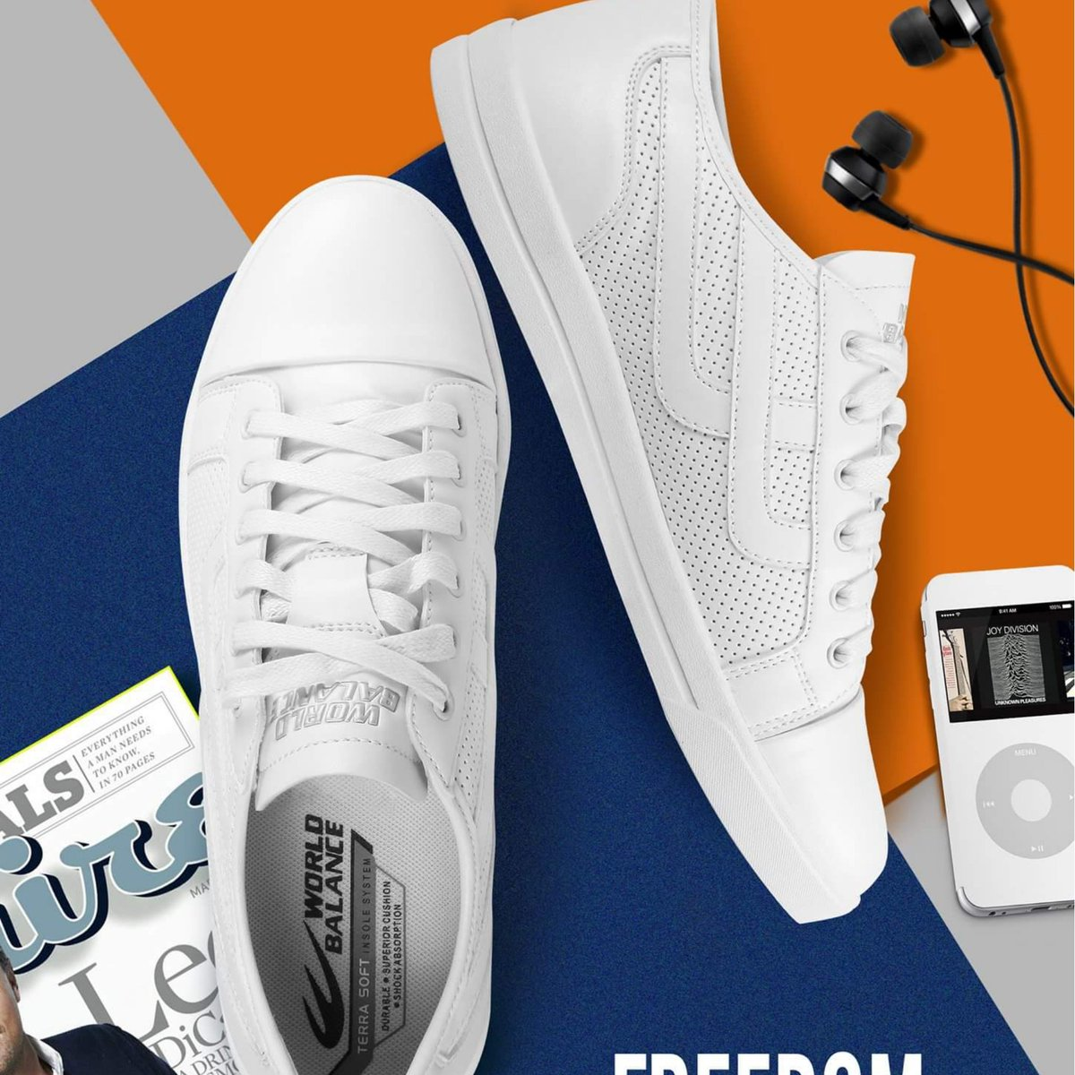 Stay preppy. The FREEDOM LUX
