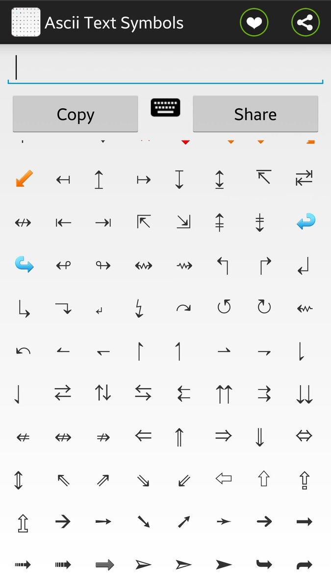 On Twitter Ascii Text Symbols Httpst