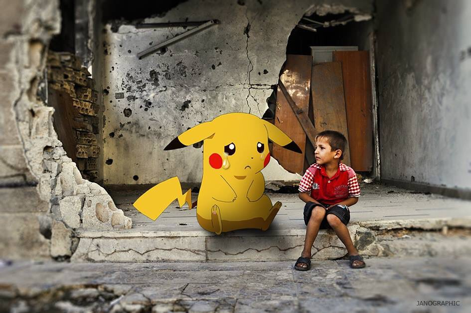 """Pokémon Go in Syria"" by Moustafa Jano. #PokemonGO https://t.co/EhRVPFxcbo"