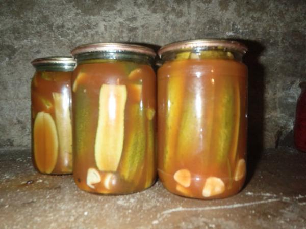 Огурцы томате рецепт фото