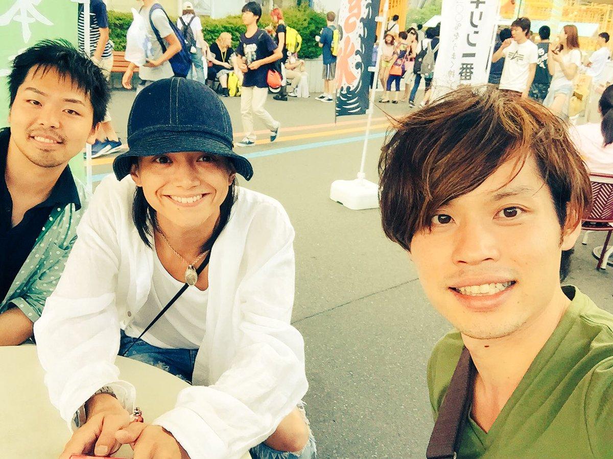と言うわけで三浦涼介こと、りょん君とのロケでした☆とっても楽しかったのである( ´ ▽ ` )ノ https://t.co/GfBOMXb3y3