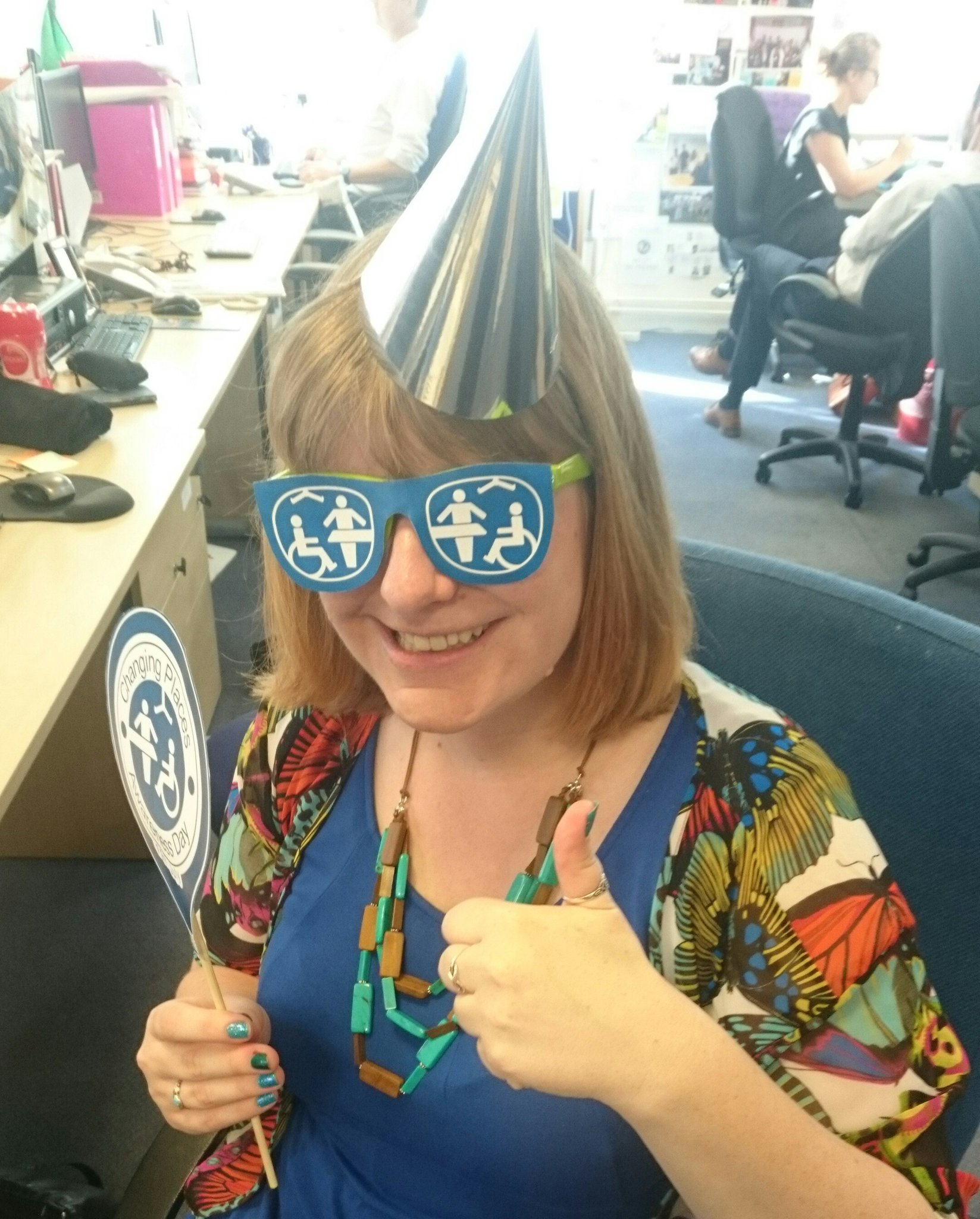 In the party mood today as it's #ChangingPlaces 10th birthday! Proud to be part of the fight for #incLOOsion https://t.co/Cobx6zLFQ9