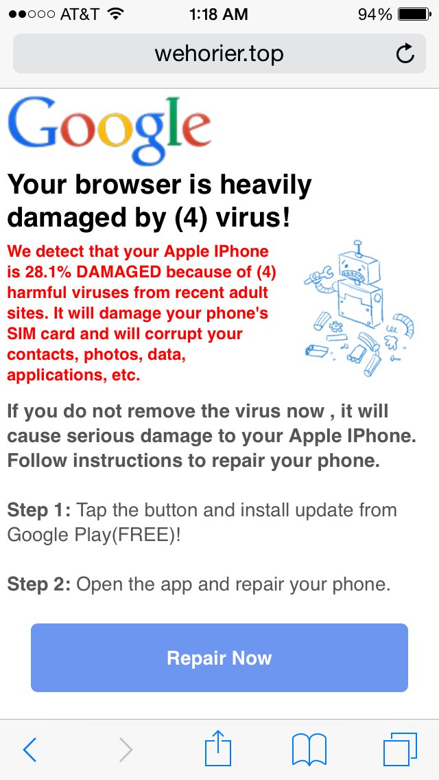 virus removal for iphone iphone popup picture the reasons why we 7261