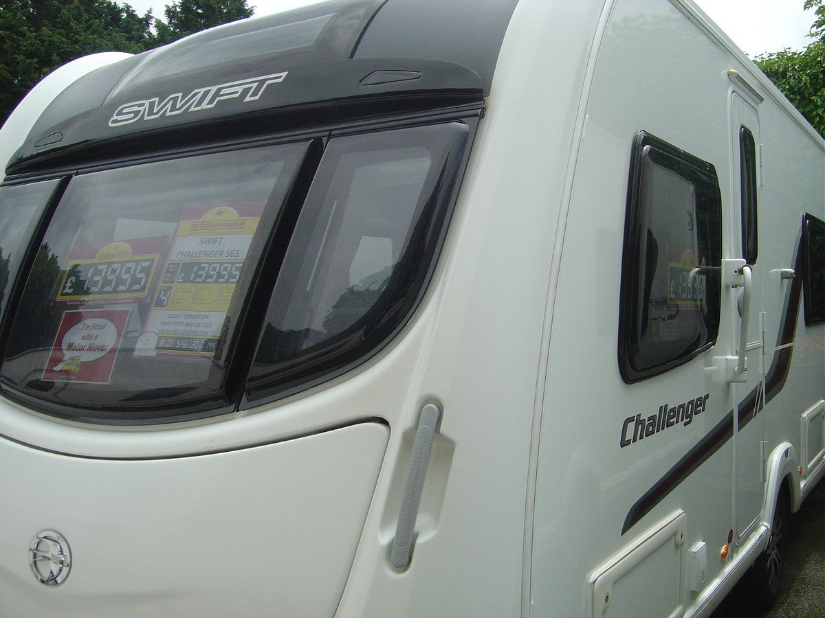 The caravan company on twitter swiftgroup challenger caravan with glass roof perfect for hot summer days https t co 3k1gnkasb4