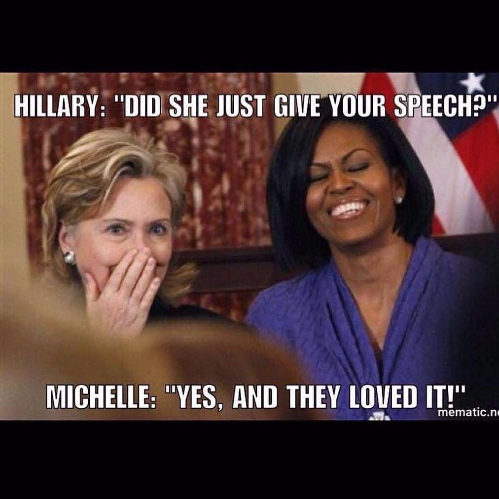 No podían faltar los memes acerca del polémico discurso de #MelaniaTrump https://t.co/BkHHYqzrt4