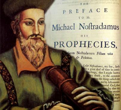 Le profezie di Nostradamus 2016: Fine delle Tasse e Grande eruzione del Vulcano Vesuvio