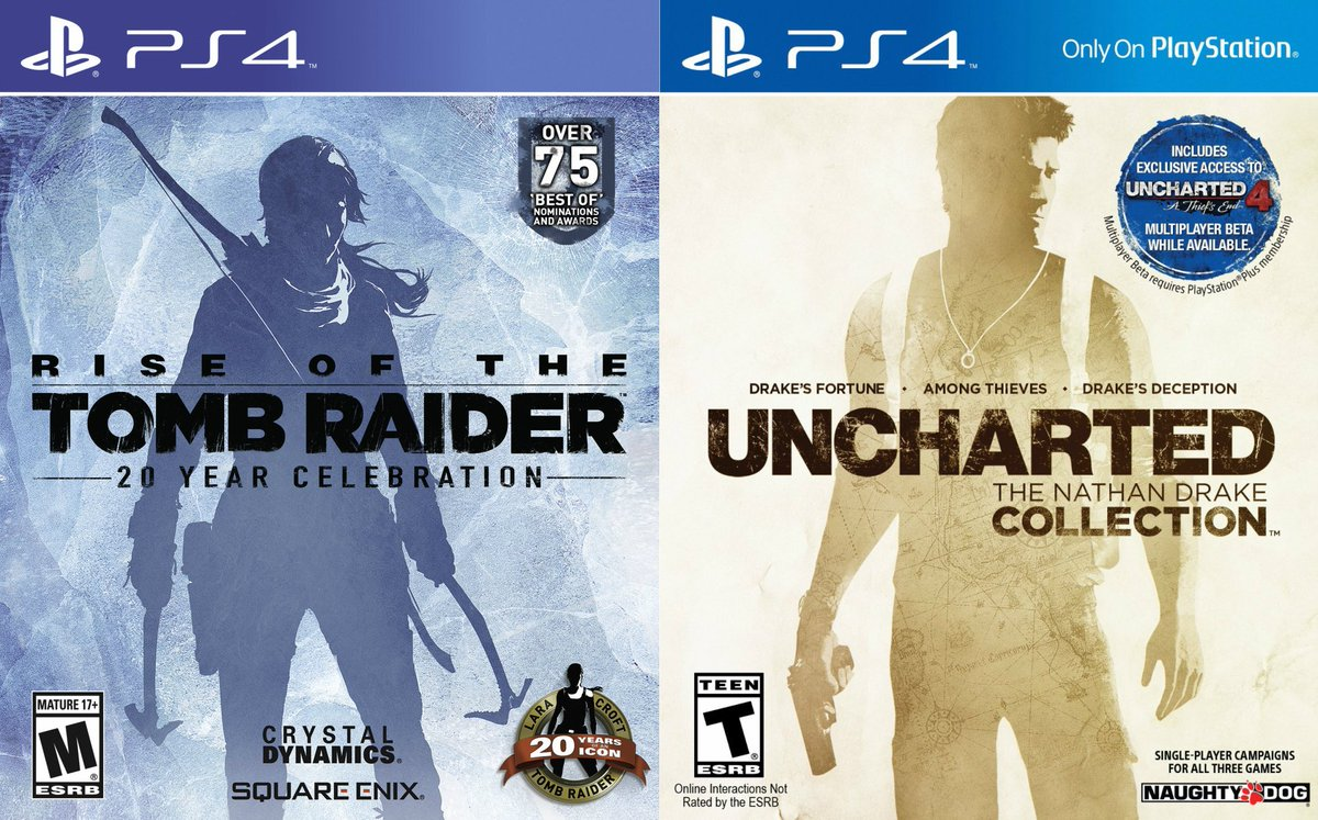 tomb raider vs uncharted 4