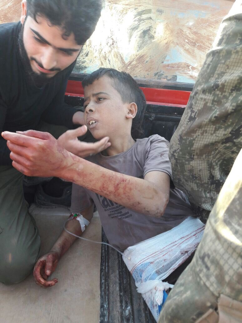 Terrorist Execute Boy