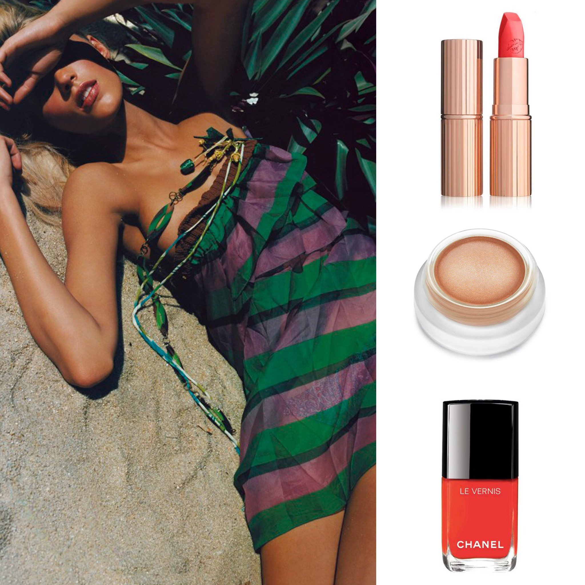 Eight beauty products to complement a summer tan: https://t.co/TVjjg4aJo0 https://t.co/aC1gcdRTPG