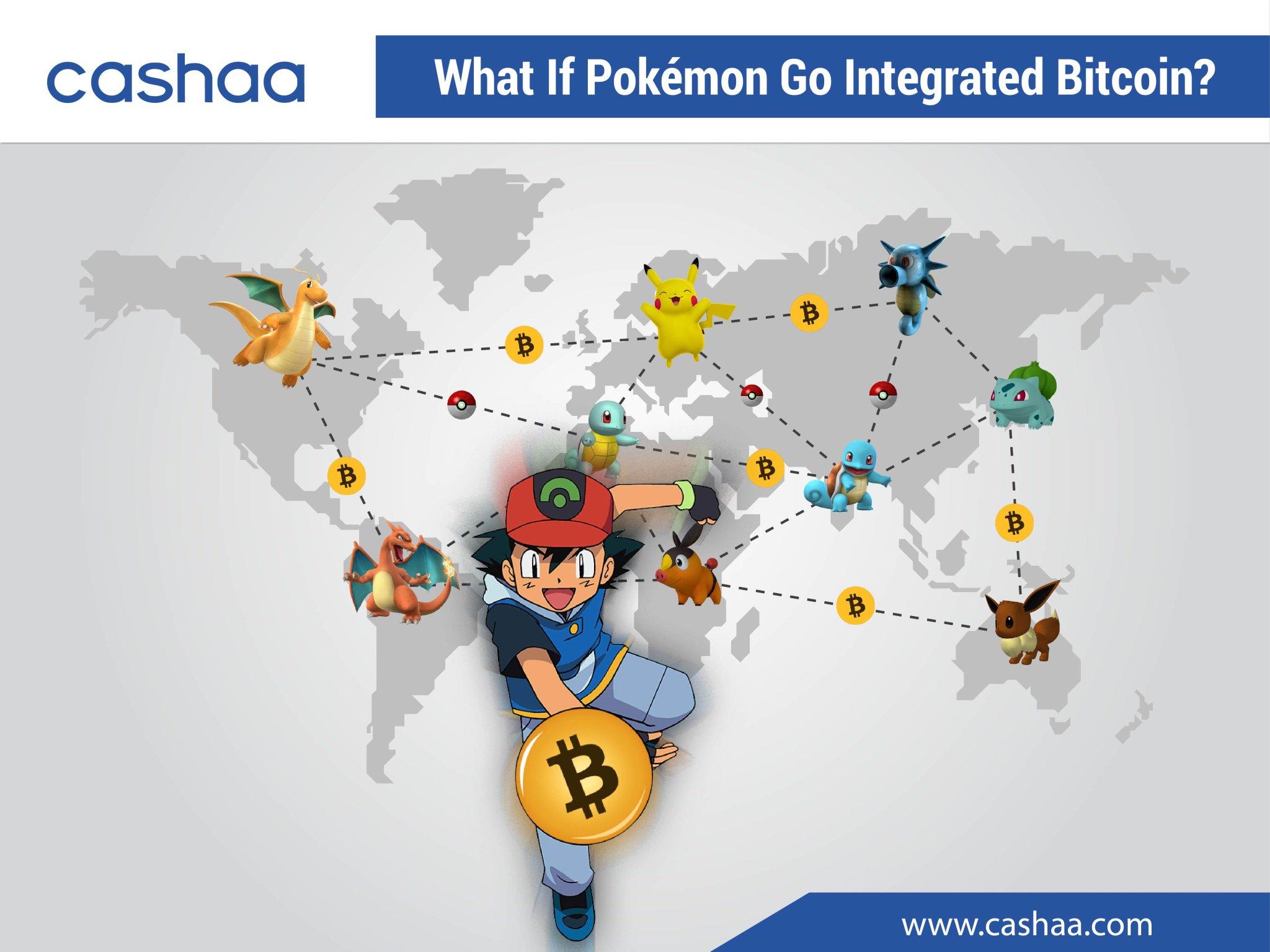 bitcoin pokemon go