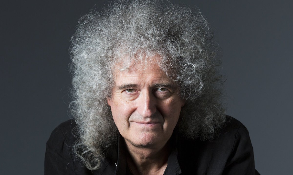 Happy Birthday, Brian May!  The lead guitarist for Queen is also a PhD in astrophysics, helped NASA's Pluto mission https://t.co/384adaAu1Q