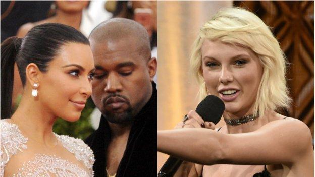 Taylor Swift potrebbe denunciare Kanye West e Kim Kardashian