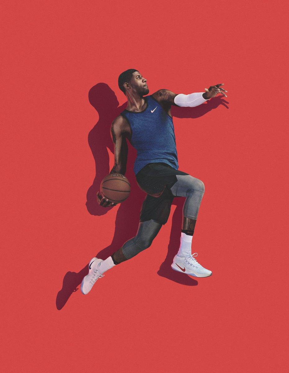 online store d08e9 7ebaa Paul George Nike Hyperdunk : Paul George takes flight Nike ...