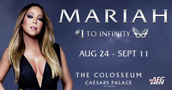 Don't miss her when @MariahCarey returns to @ColosseumatCP Aug 24 - Sept 11! https://t.co/MFGibr5m9b https://t.co/XC1RfpuLng