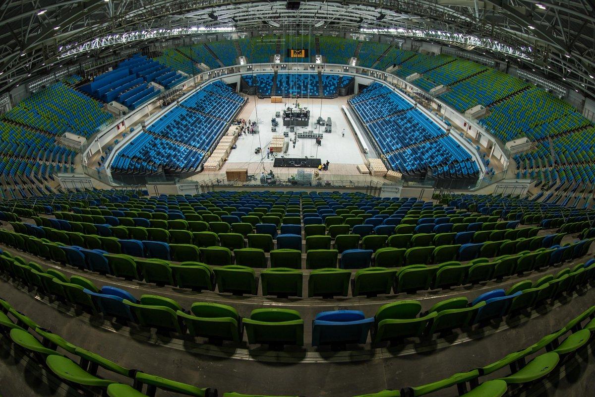 олимпийский внутри фото с разных секторов дополнительное освещение также