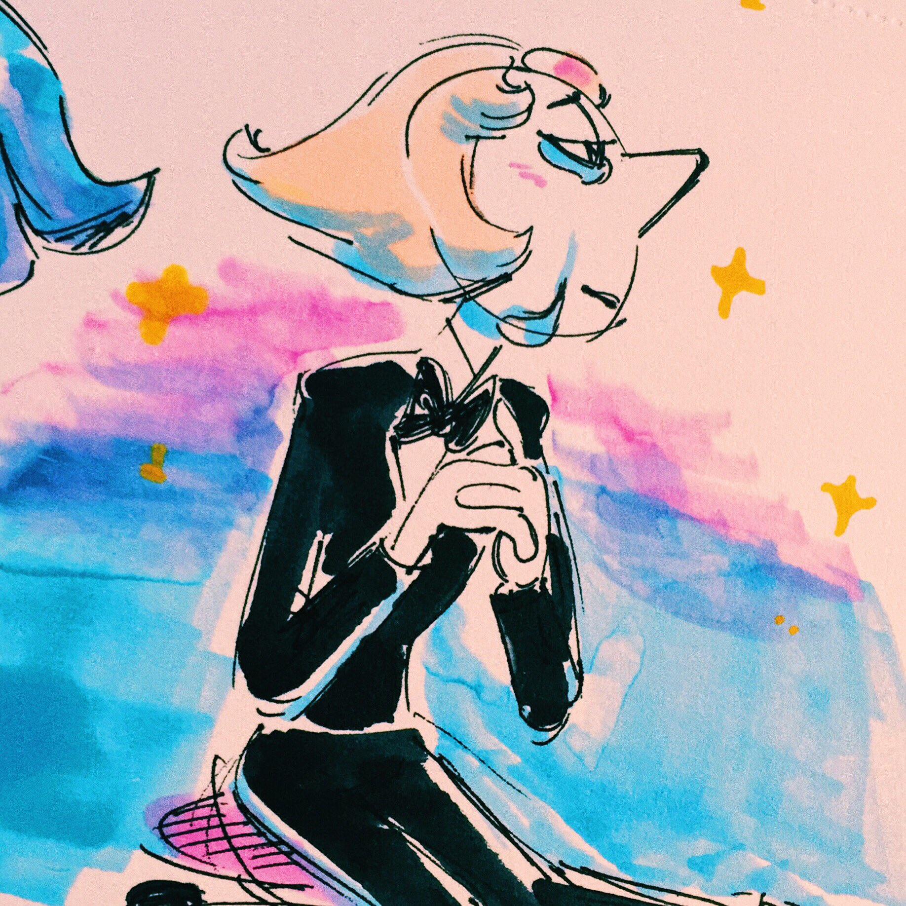 """""""Love was beautiful once wasn't it #StevenUniverse #pearl (this ep was beautiful UGH)"""""""