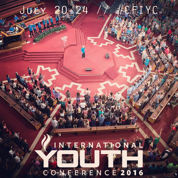 Tomorrow #CFIYC 2016 begins! We're excited to see what God is going to do in the lives of young and old alike! https://t.co/e6zuHnLc9h