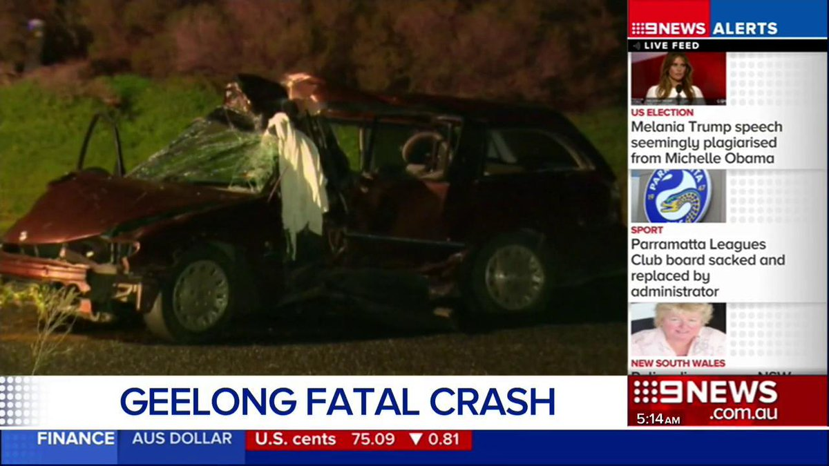 Geelong Died Speed Car Crash Geelong Overnight News Nine News Melbourne Scoopnest