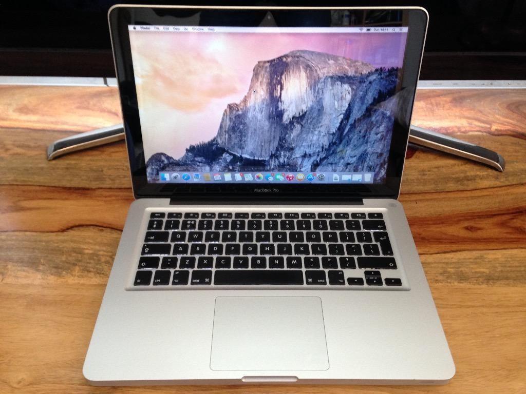 le Macbook Pro 13.3 Procesador I5 2.4 Ghz 4gb Ram 500gb  #ML --> https://t.co/MgpIOT0w4R  #ElOlorQueMasMeGusta https://t.co/Rhcd7QIRS7