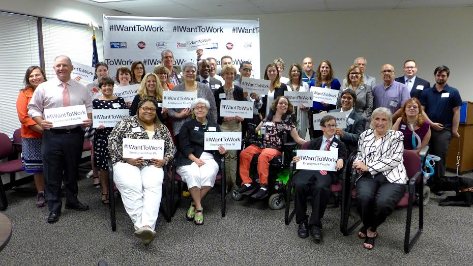 Thanks to all who joined us this morning at @unitedwaySWPA to celebrate the passage of #HB400 #Act26 #IWantToWork<br>http://pic.twitter.com/K5dfSyAh89