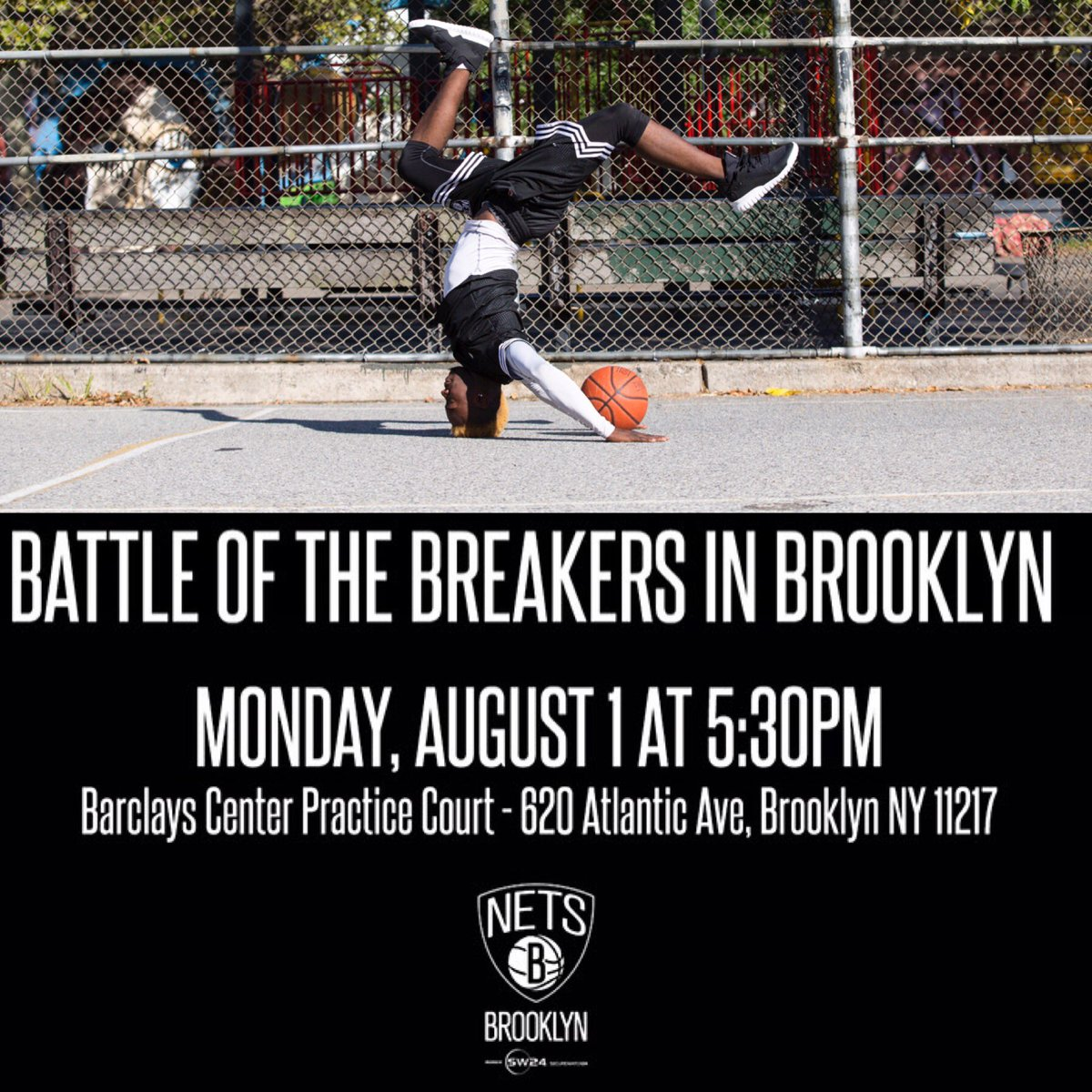 Calling all B-Boys and B-Girls, Come show us your skills 8/1 @ 5:30PM Sign up now at https://t.co/DbJKfj35Sx. https://t.co/CmSgrYj6PB