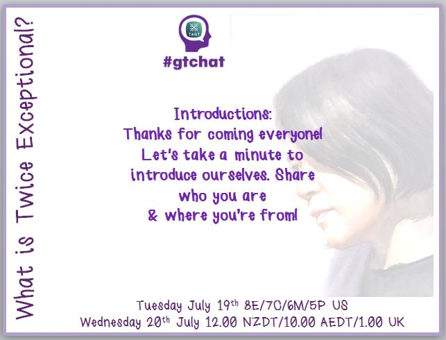 Thanks for coming out! Let's take a minute to introduce ourselves. Share who you are & where you're from! #gtchat https://t.co/xmyLiwaJCH