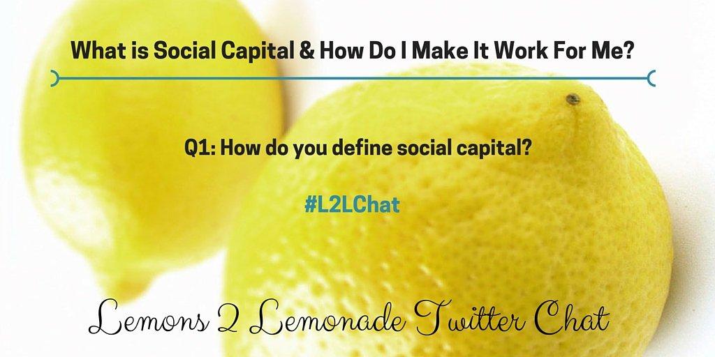 Q1: #L2LChat @SabrinaKGarba @leilanimarkets & @ChardaeJ_ https://t.co/lLGimpcZIT