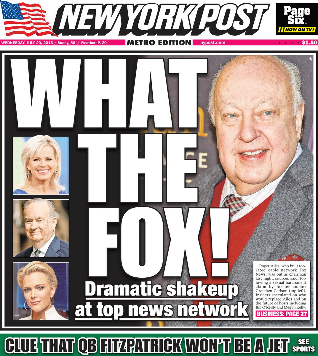 New york post sexual harassment