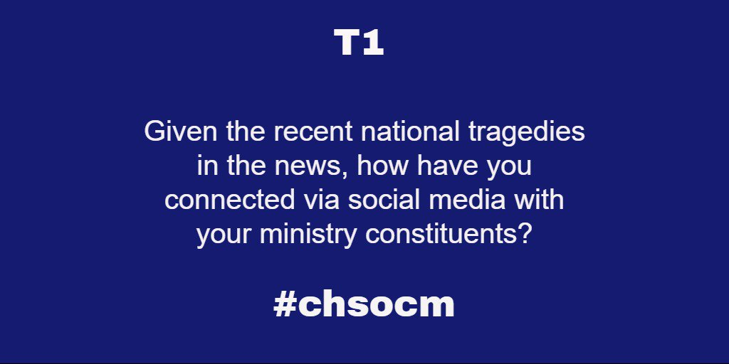Thumbnail for #ChSocM chat 07/19/16: Tragedy and Social Media