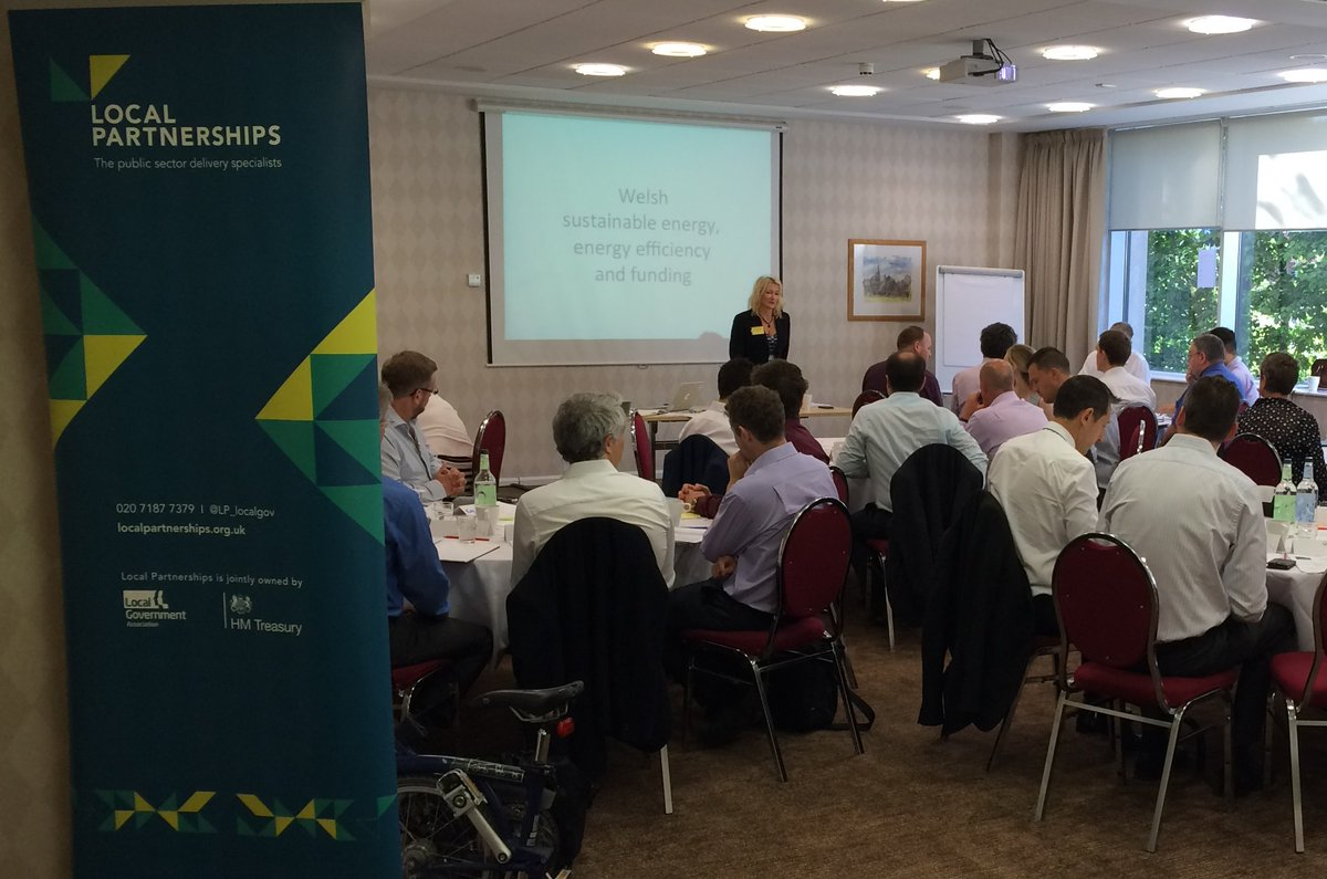 Sustainable energy & energy efficiency workshop today in Cardiff opened by Jane Forshaw from @LP_localgov