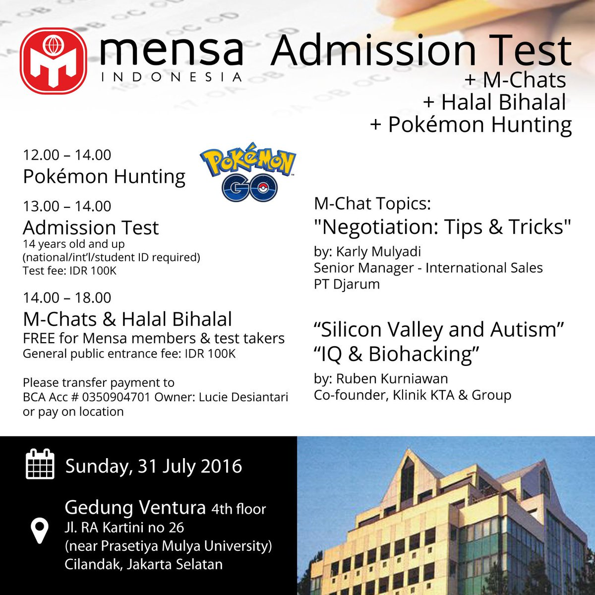 MENSA Indonesia on Twitter: