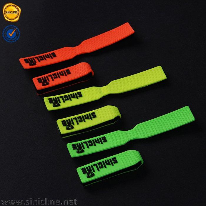 Sinicline rubber zipper pulls