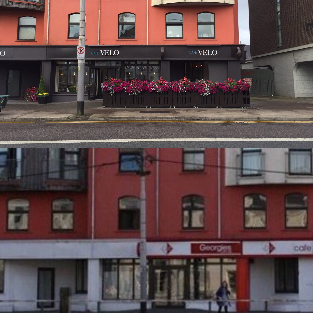 cafe velo on twitter were looking for help anyone know how we can update the image from georgies to cafe velo on search enginescork