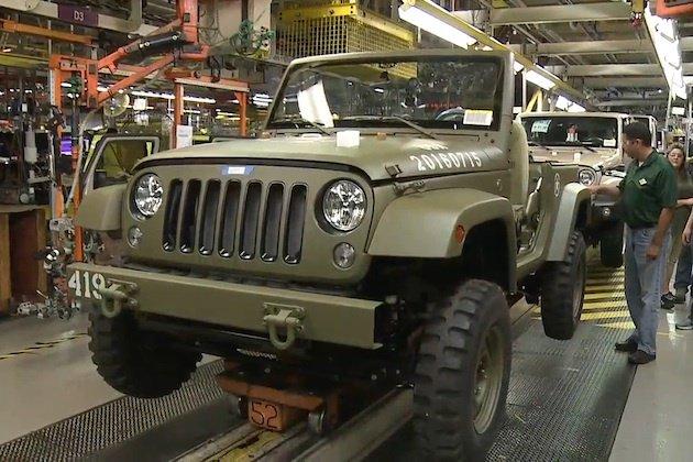 ジープ、誕生75周年を記念して第二次世界大戦時の軍用車を再現した「ラングラー」を製作! https://t.co/g8tqE1QNaE https://t.co/Hzsz8zHZIq