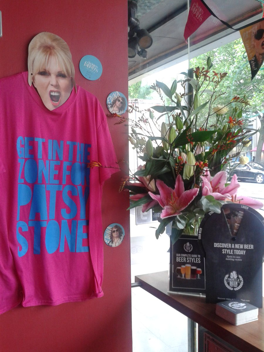 Last 2 days #AbFabMovie RT for chance to win abfab t-shirt! They'll be in our little cinema waiting for you sweetie! https://t.co/w1tz82l9RQ